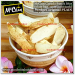 French Fries WEDGES ORIGINAL PLAIN McCain Canada (price/kg)