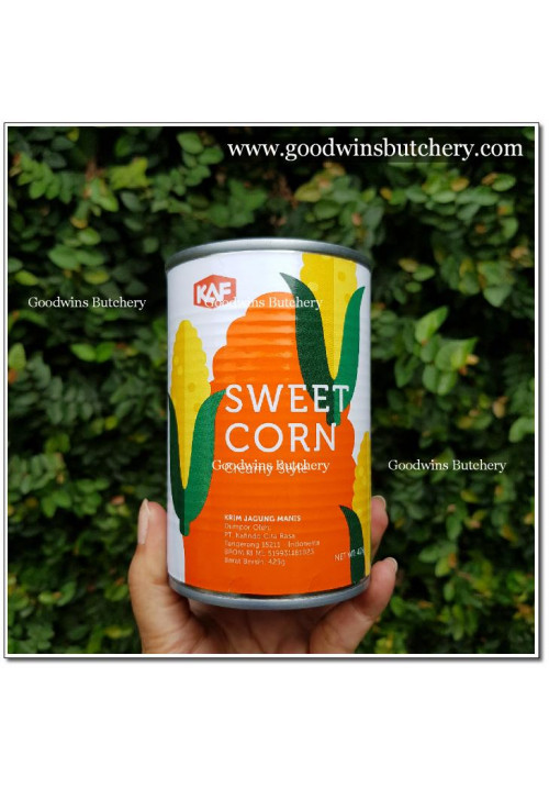 Corn KAF 425gr sweet corn kernel in CREAM