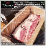 Beef Cuberoll Ribeye WAGYU Tokusen mbs <=5 LTS (weight Less Than Standard) aged chilled WHOLE CUT +/-3.5kg