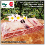 Beef rib shortrib chuck 4ribs USDA select Swift 2 slabs original bag apx 4kg (price/kg) NO STOCK AT THE SUPPLIER