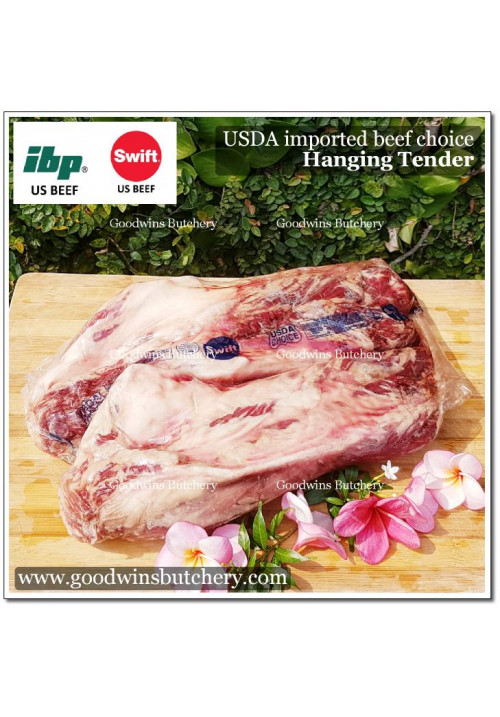 Beef hanging tender USDA choice IBP apx 2.25kg (price/kg) OUT OF STOCK FROM THE SUPPLIER