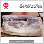 Beef SHORT LOIN WHOLE CUT choice US imported beef SWIFT