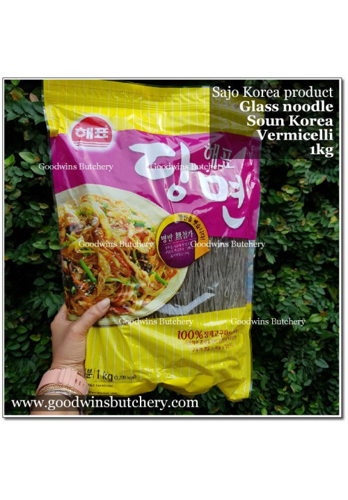 Noodle korean glass noodle vermicelli soun Ansung Food Korea 1kg