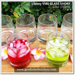 Mexico-Libbey glass VIBE SHORT 12oz 355ml