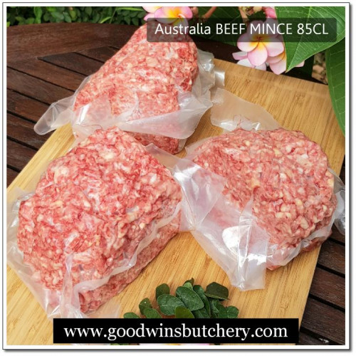 Australia mince beef 85CL (price/500gr)