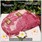 Beef TOPSIDE Wagyu Tokusen mbs <=5 aged chilled whole cut apx 7.5kg (price/kg) PREORDER 1-3 days notice