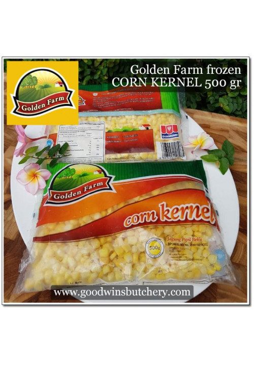 Corn 500g Golden Farm sweet corn kernel FROZEN OUT OFF STOCK