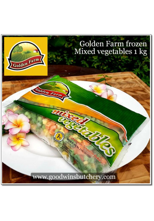 Veg MIXED VEGETABLES frozen 1kg - Golden Farm