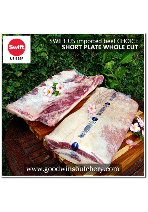 Beef SHORT PLATE WHOLE CUT - Choice U.S imported SWIFT