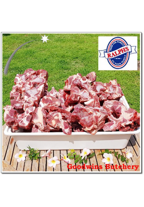 Beef bone NECK BONE Australia Ralphs frozen portioned-cut