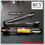 Tongs stainless steel 33cm - HCY hotel supplier