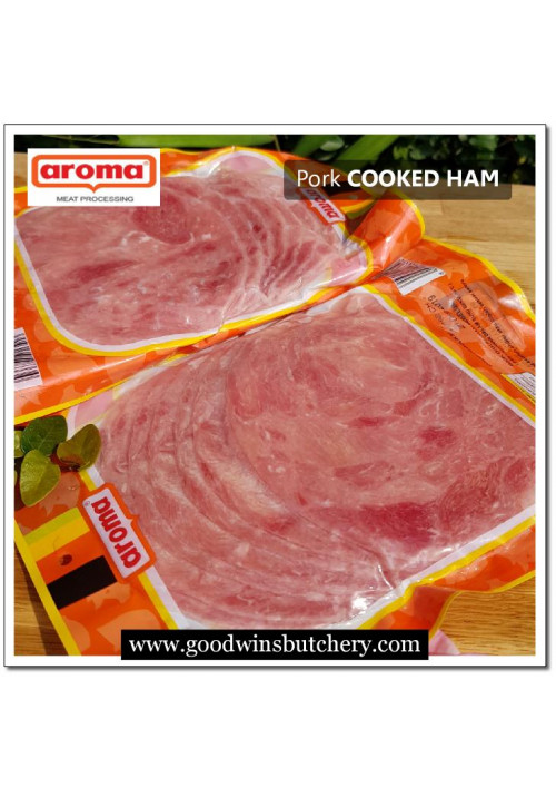 Pork ham, cooked-ham sliced Aroma Bali (price/pack 250gr) exp 15.12.2019