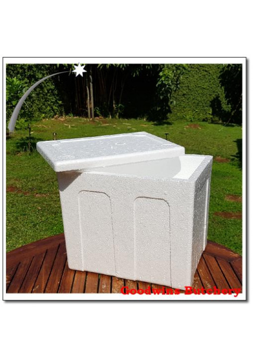 Packaging STYROFOAM BOX ONLY (small L/34 W/24 H/29 cm)